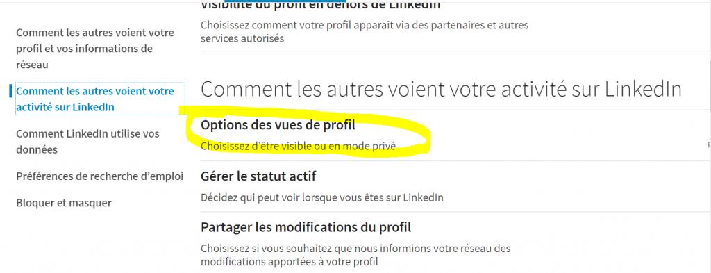 Comment voir un profil LinkedIn sans être vu- Tutoriel LinkedIn