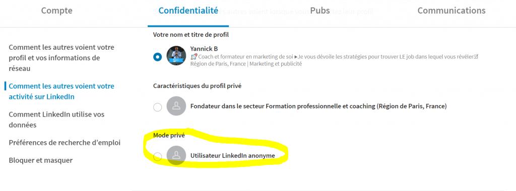 Comment regarder un profil LinkedIn sans être vu- Tutoriel LinkedIn
