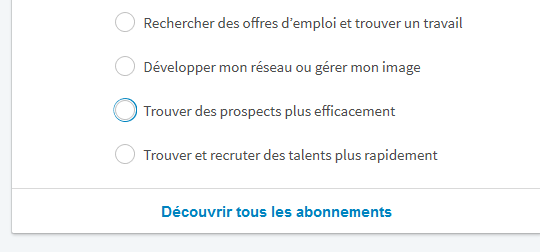 LinkedIn premium gratuit tutoriel