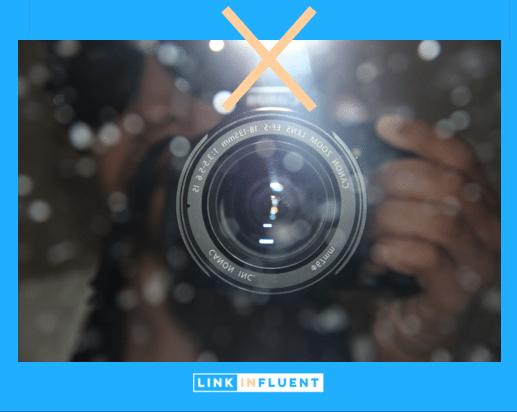 Ne pas utiliser de flash pour votre photo LinkedIn
