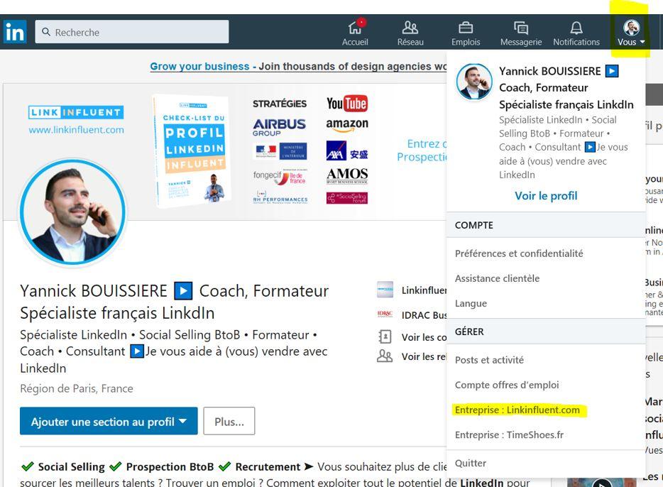 Inviter les contacts LinkedIn à suivre sa page LinkedIn entreprise - Tutoriel