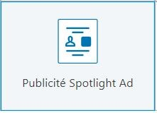 LinkedIn Ads - Spotlight Ad