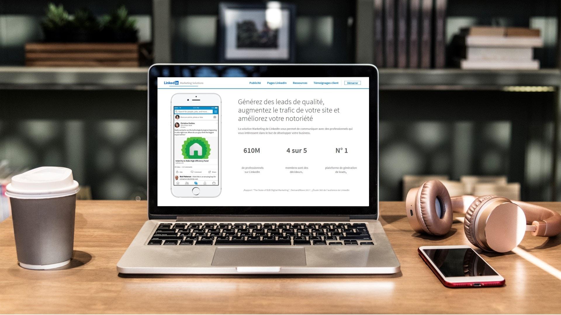 LinkedIn Ads tutoriel publicité LinkedIn en français - Linkinfluent