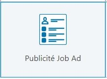 Publicité Job Ad LinkedIn Ads