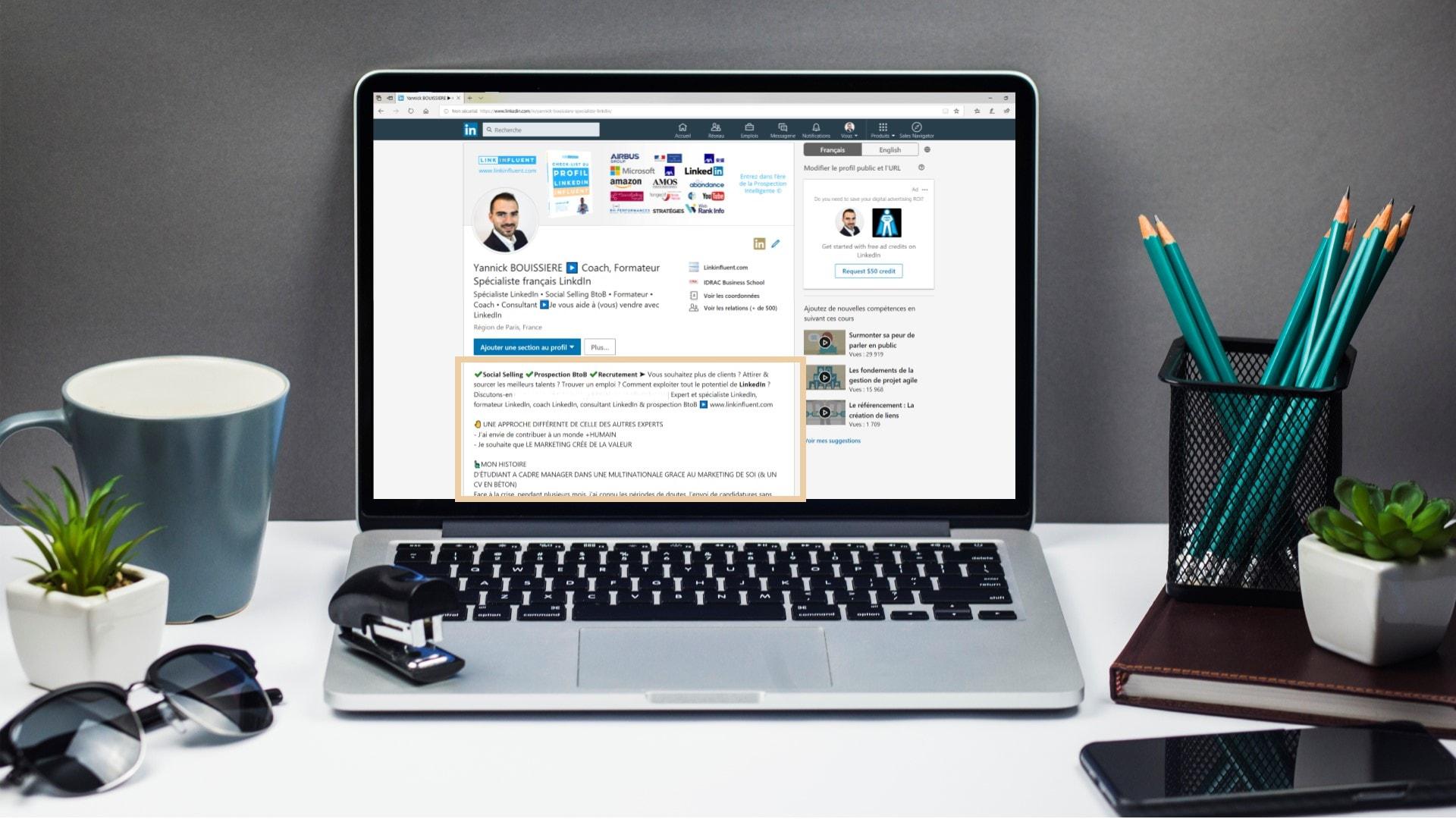l'écriture du profil parfait pour les rencontres en ligne