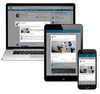 Sponsored Content : format de publicité LinkedIn Ads
