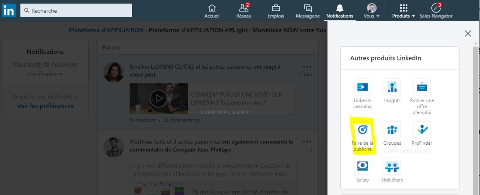 Pixel LinkedIn et LinkedIn insight tag - Tutoriel LinkedIn en français - Proinfluent