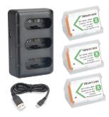 Batteries et chargeur du Sony RX 100 VII