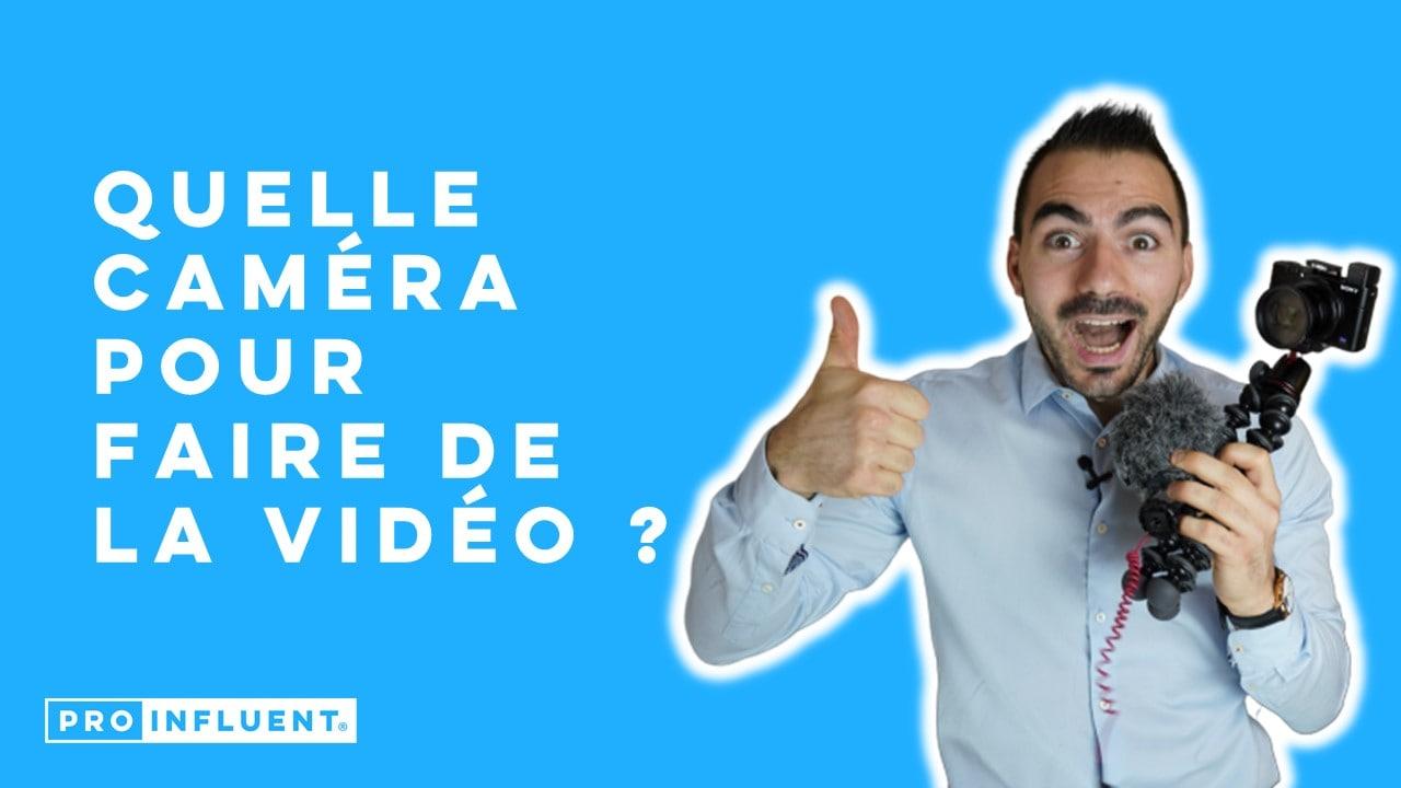 Caméra pour vidéos YouTube et LinkedIn