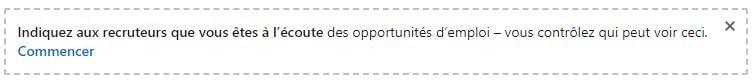 Utiliser LinkedIn : opportunités d'emploi