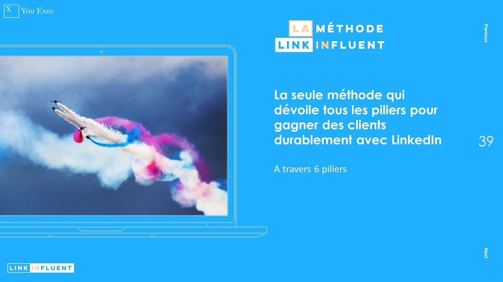 La méthode Proinfluent : 6 piliers