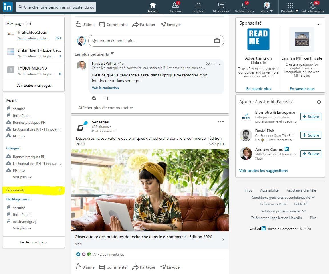 LinkedIn Events tutoriel pour créer un événement LinkedIn