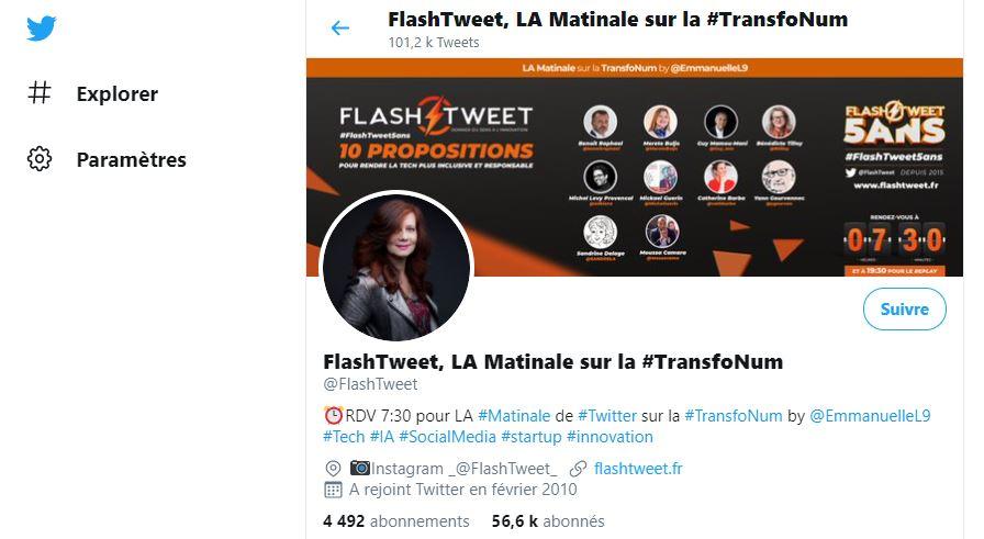 Flash Tweet - Chiffres Clés Twitter