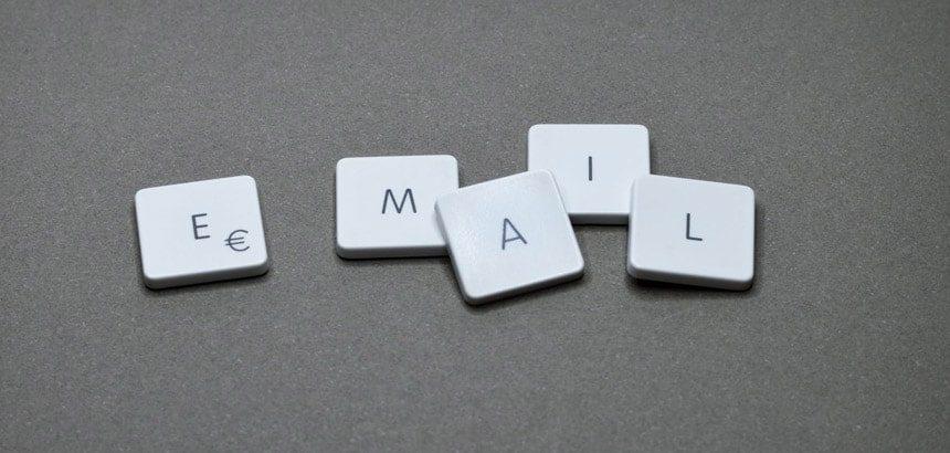 E-mail remerciement