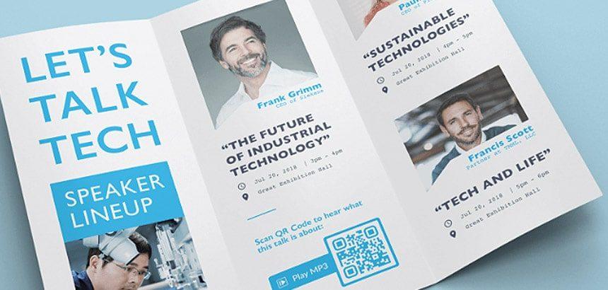flyer QRcode
