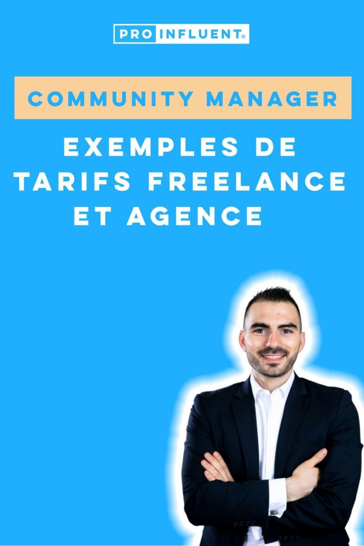 community manager tarif freelance agence exemple