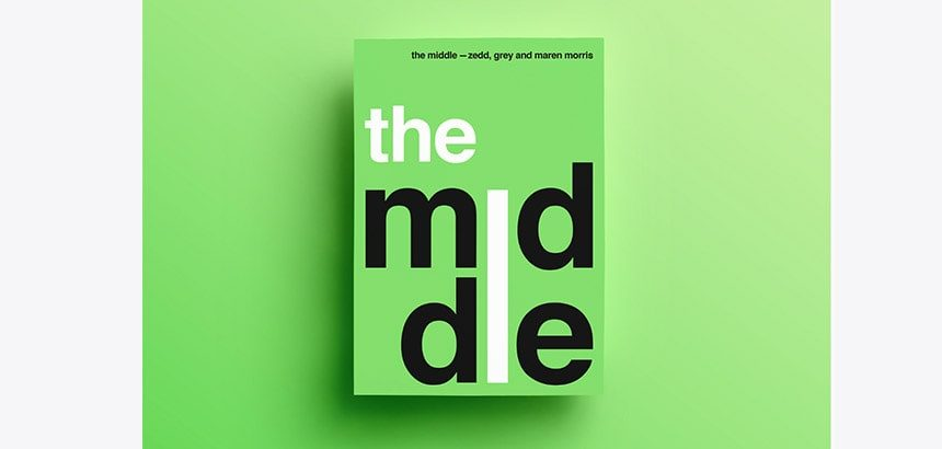 flyer typographie