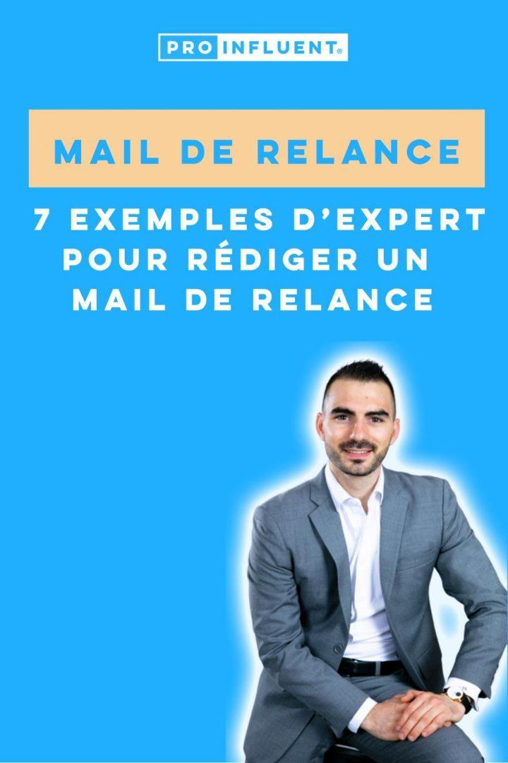 mail de relance exemples expert