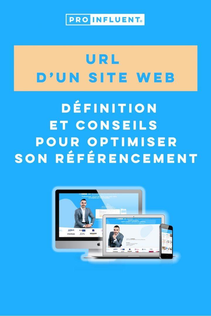 url site web