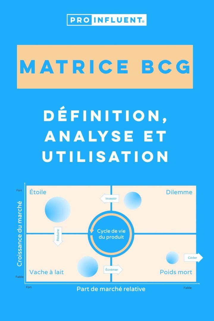 Matrice BCG : définition, analyse et utilisation