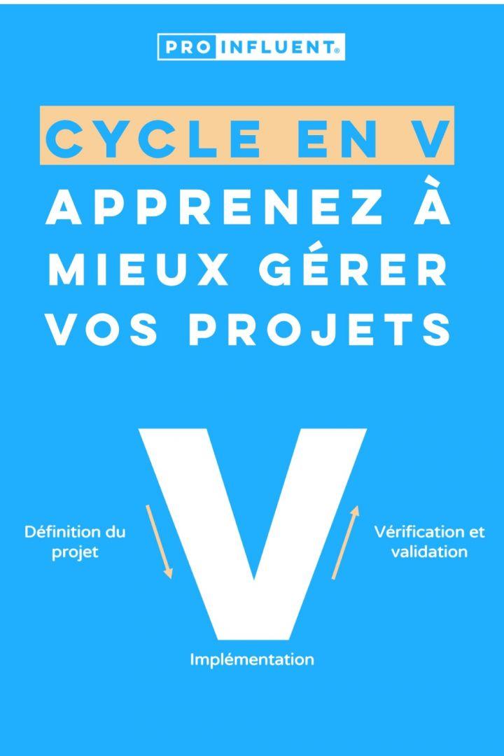 Cycle en V : le guide complet pour apprendre à mieux gérer vos projets