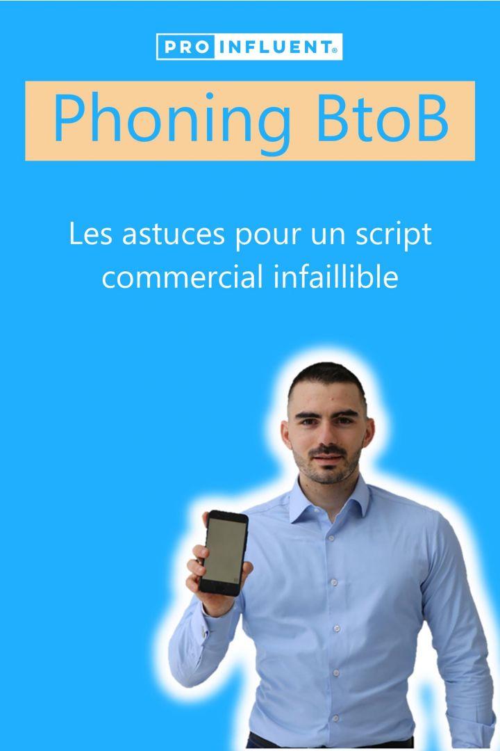 Phoning BtoB les astuces pour un script commercial infaillible