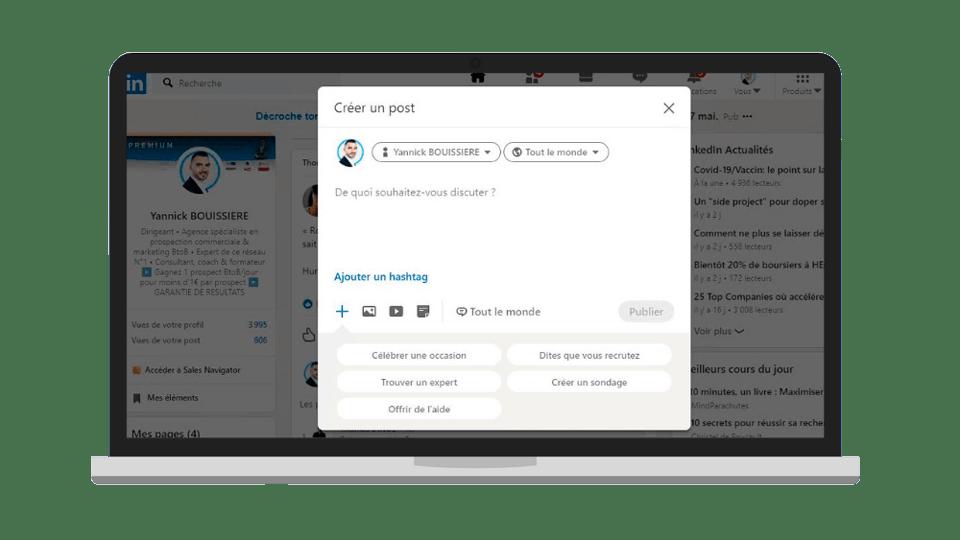 Réussir sur LinkedIn : Partager et interagir avec les membres du réseau