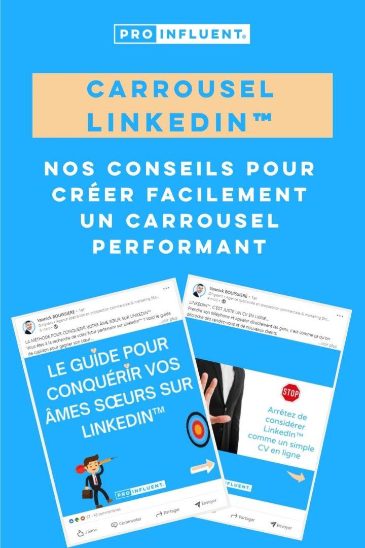 Créer carrousel LinkedIn performant