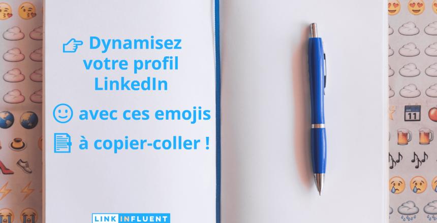 Dynamiser son profil LinkedIn avec ces émojis à copier-coller-min