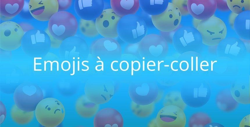 Emoji Reseaux Sociaux Et Emoticones A Copier Coller