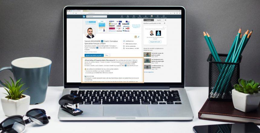 Résumé profil LinkedIn percutant